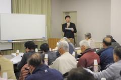 石井先生のお話に皆さん食い入るように聴いておられました